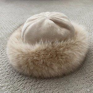 1950's Vintage Grevi Firenze Real Fur Hat